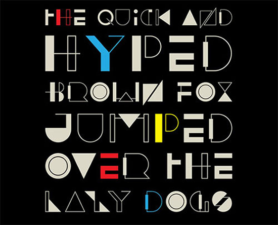 HYPED-Font-by-med-ness