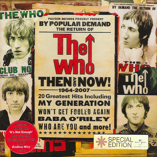 the who - then and now 2004