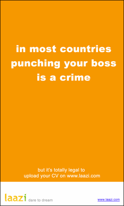 Laazi-punching-your-boss-is-a-crime-creative-job-ad